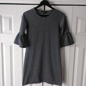 Atmosphere black and white striped dress Size 4